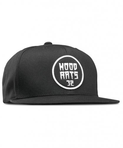9d3149a07e6  HOODRATS  SNAPBACK CAP (BLACK)